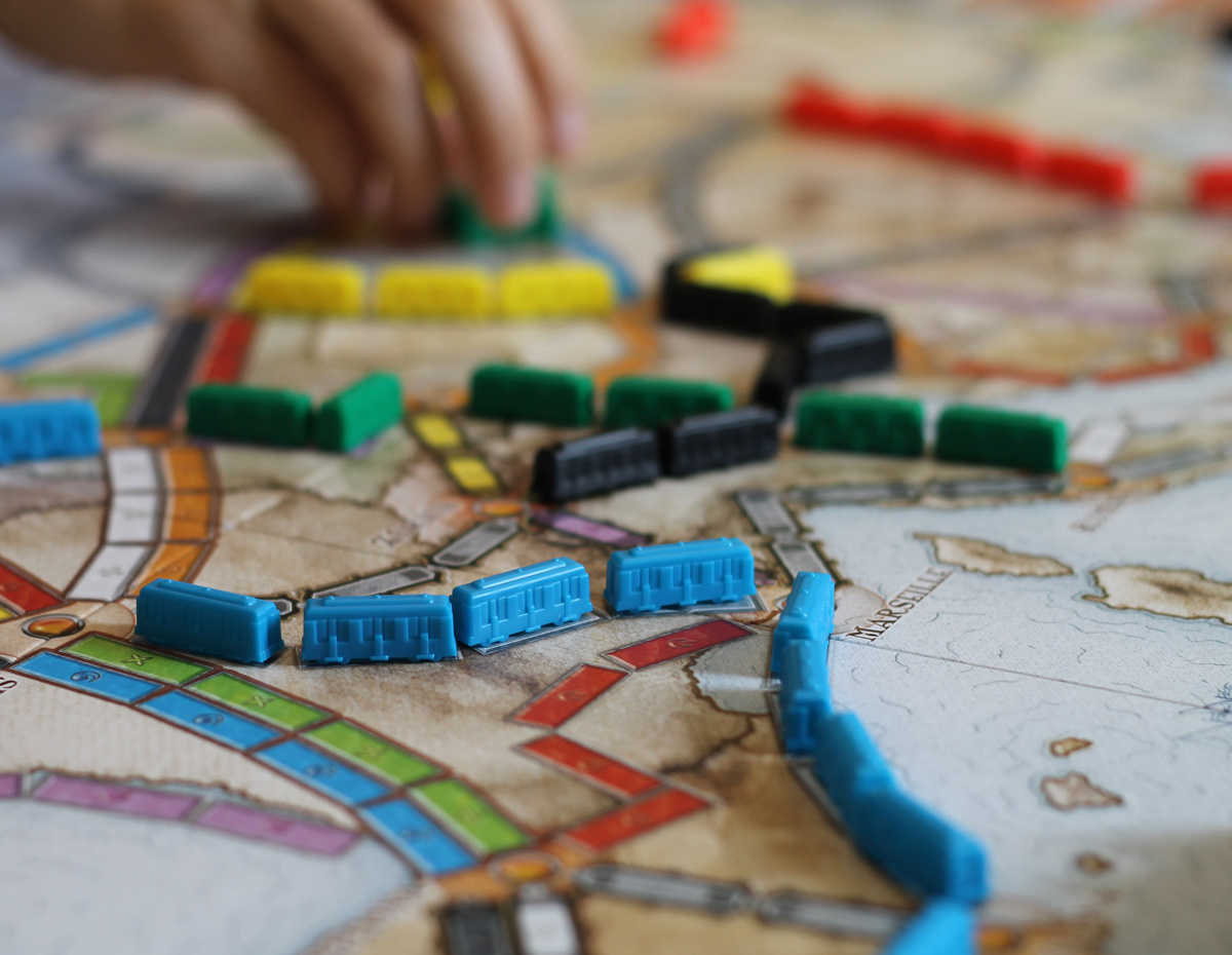 Boardgames, card games, and travel games
