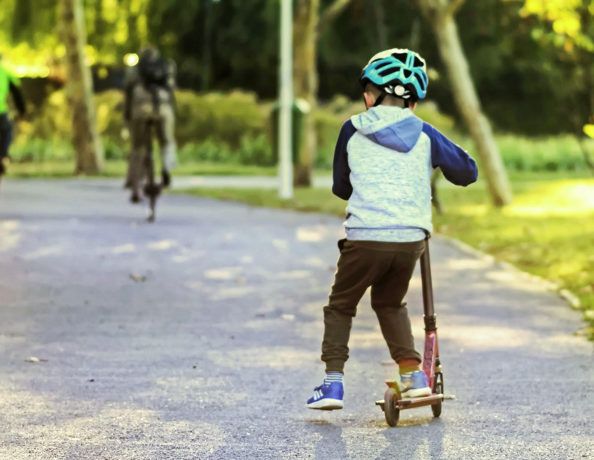 Scooters, Roller skates, skateboards